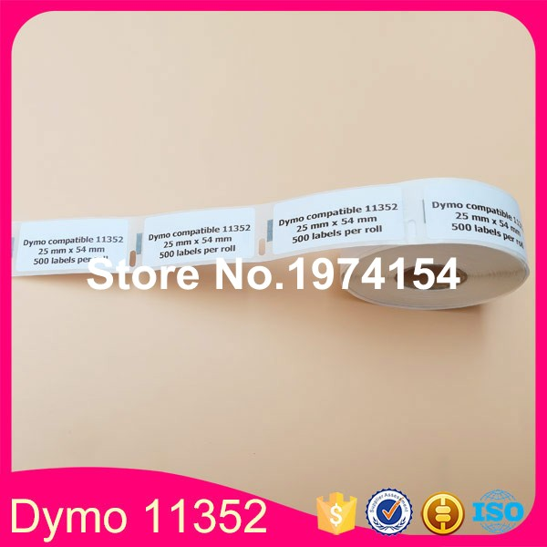35X Roll Dymo Compatible Labels 11352 1352 Return Address labels 54mm x 25mm dymo 11352
