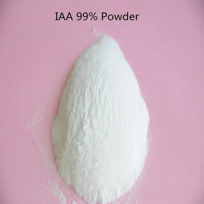 100 gram 3-indolylacetic acid/IAA 99% TC low price Free Shipping Plant Growth Regulator