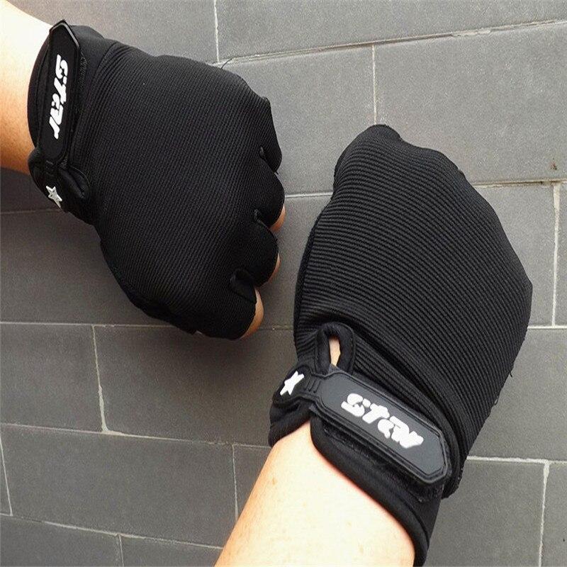 Men Antiskid Cycling Bike Gym Fitness Sports Half Finger Gloves Hand Gloves Guantes Eldiven Handschoenen 40FE14