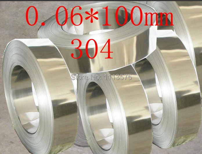 0.06 thickness 0.06*100mm authentic 304 321 316 stainless steel col rolled bright thin foil tape strip sheet plate coil roll 0 08 thickness 0 08 100mm authentic 304 321 316 stainless steel col rolled bright thin foil tape strip sheet plate coil roll