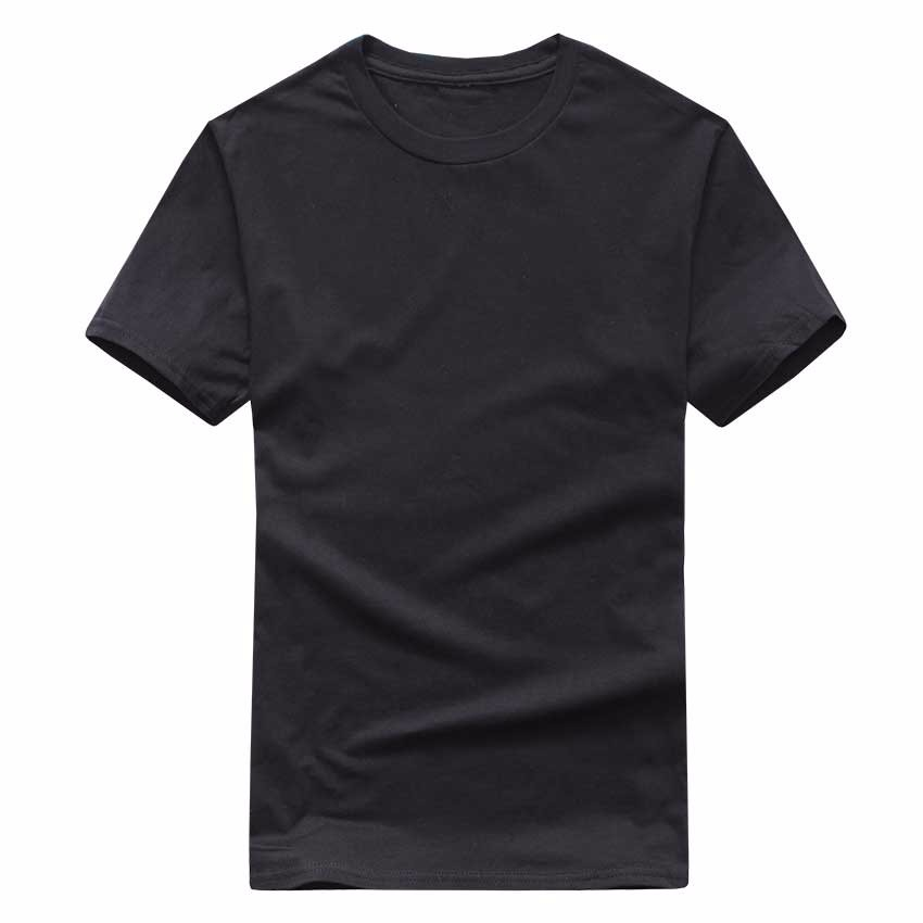 19 New Solid color T Shirt Mens Black And White 100% cotton T-shirts Summer Skateboard Tee Boy Skate Tshirt Tops European size 8