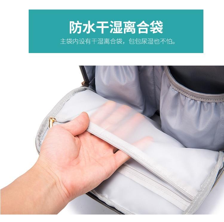 Mulheres multifunction mochila grande capacidade de carregamento