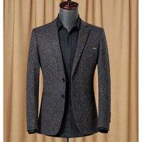 New Arrival Brand Clothing Jacket Suit Jacket Men Blazer Fashion Slim Male Suits Casual Blazers Men Size 46 52