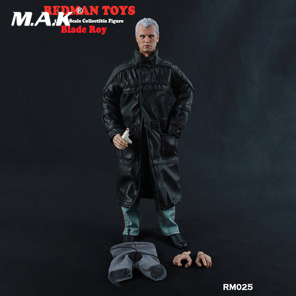 1/6 Scale RM025 Roy Batty Blade Runner Rutger Hauer Action Figure with original box цена 2017