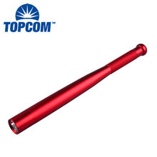 TopCom Tactique portable Elite Heavy Duty Survie En Plein Air Baseball Bat Explosion-Preuve LED lampe de Poche Auto-Défense(China)