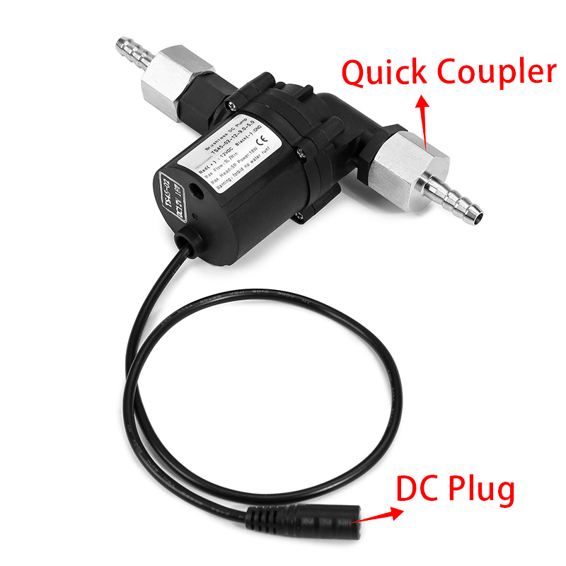 DC12V 18W Brewing Pump Durable Homebrew Beer Circulation Brushless Pumps Water Pump Home Brew Beer Pumps