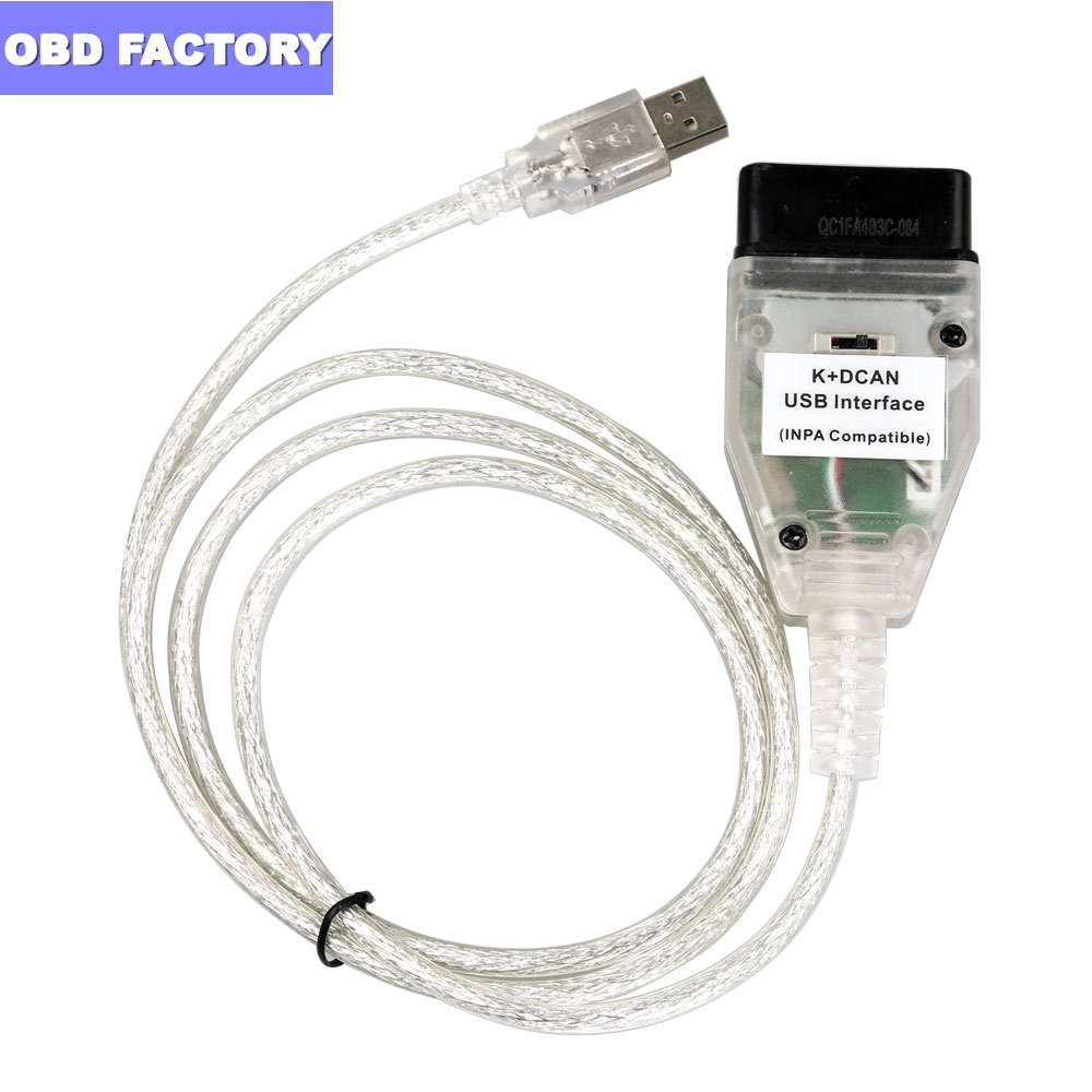 for BMW INPA K CAN FT232RL for BMW INPA K DCAN Cable OBD2 Scanner for BMW Inpa Ediabas title=