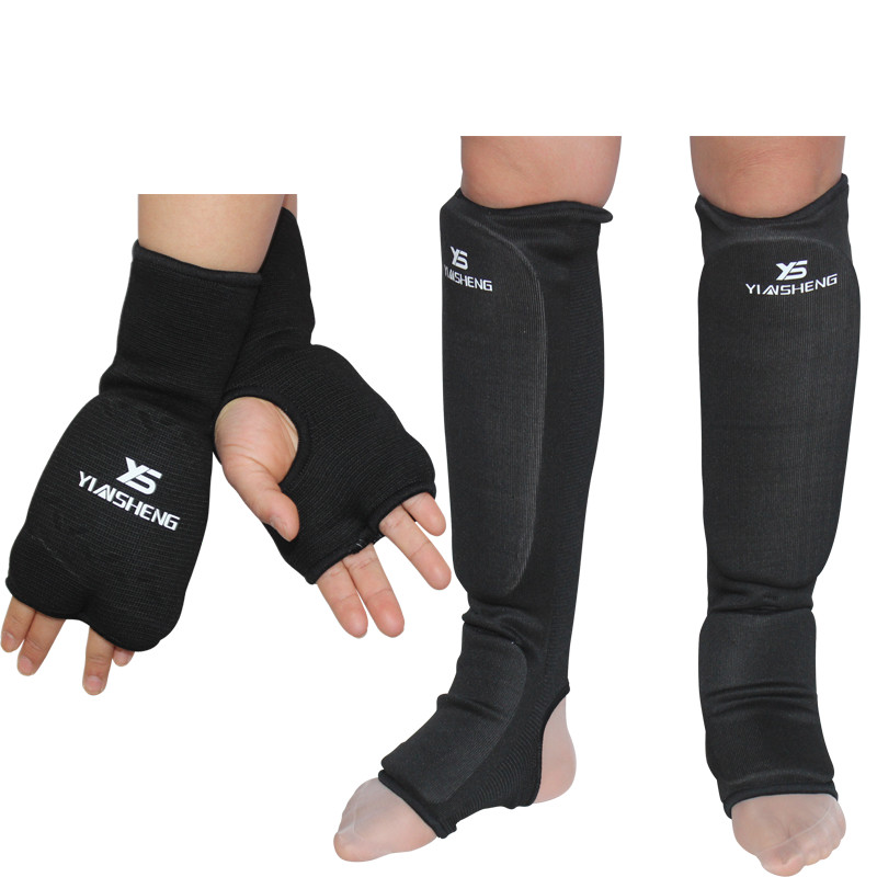 New MMA Shin and Instep Padded Protected Form Pads kickboxing Adults Men Women