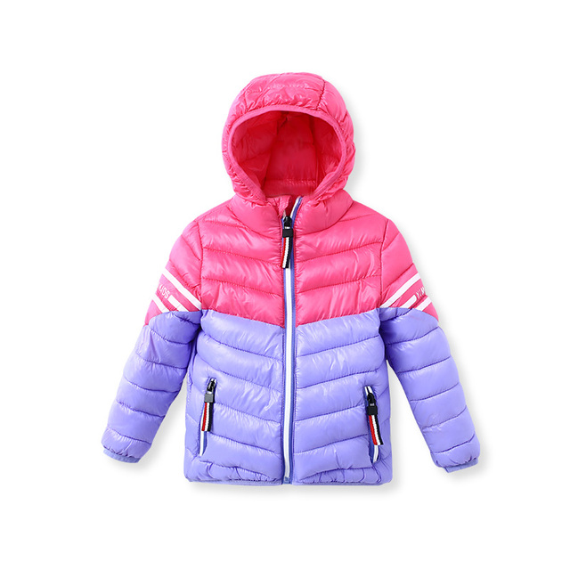 8d2e210fb Zipper Hooded Winter Jacket For A Boy Children s Jackets Kids Coats ...