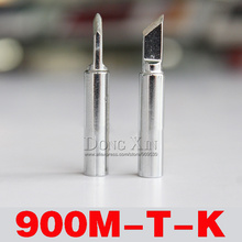 цена на Free shipping 10/pcs 936 852d+ 909D ESD Lead free soldering tip 900M-T- K tip 936 soldering station tip free shipping