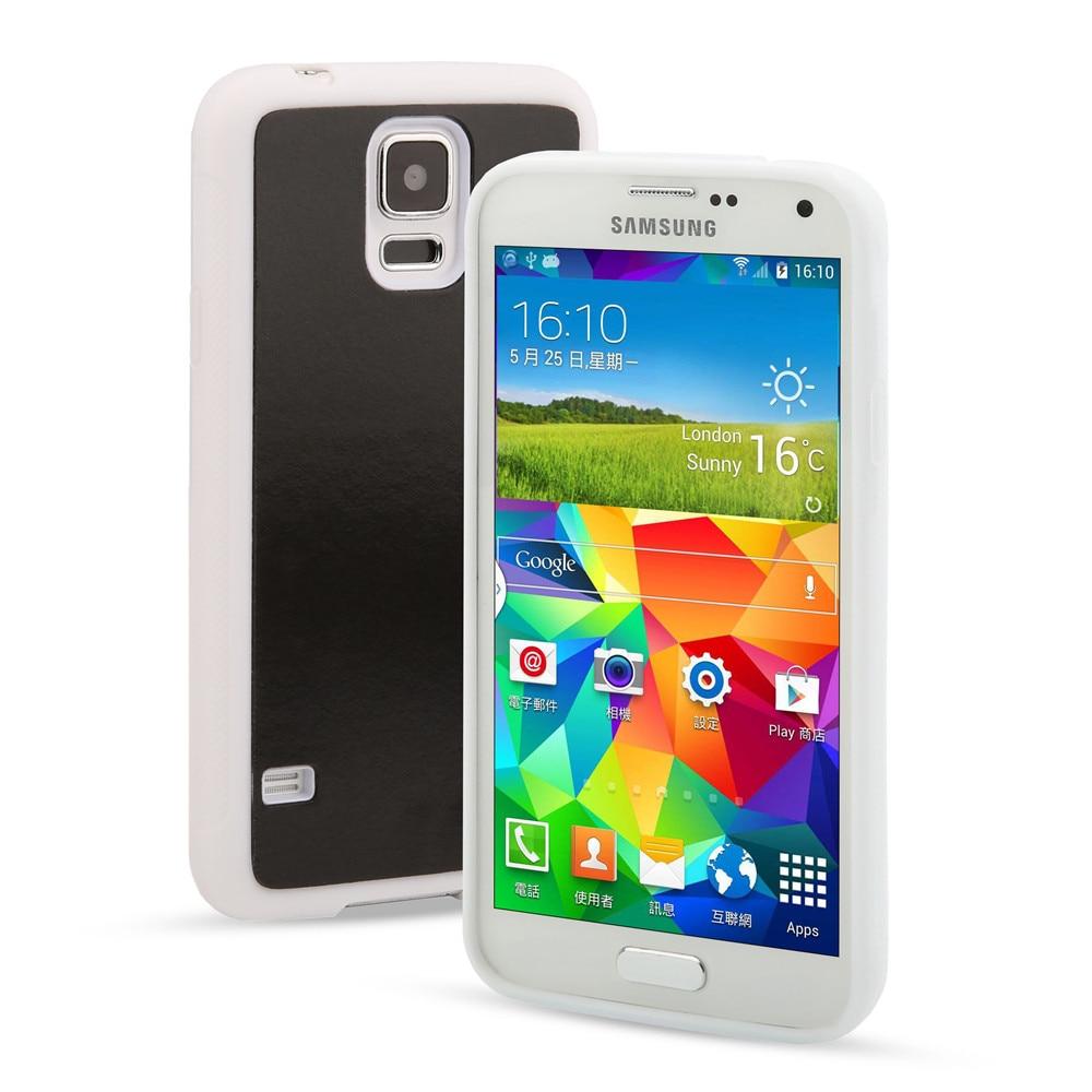 TIKITAKA Magical Antigravity Case For Samsung Galaxy S4 S5 i9600 i9500 Anti Gravity Nano Suction Cover Adsorption Phone Shell