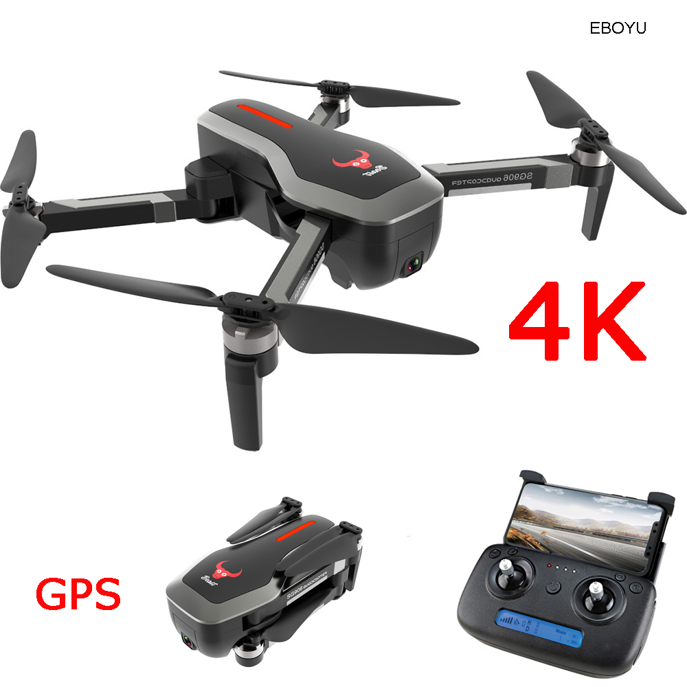EBOYU SG906 GPS RC Drone 4K HD Front Camera +720P Down-Looking Camera 5G WiFi FPV Foldable Brushless Drone OF Positioning RTFEBOYU SG906 GPS RC Drone 4K HD Front Camera +720P Down-Looking Camera 5G WiFi FPV Foldable Brushless Drone OF Positioning RTF