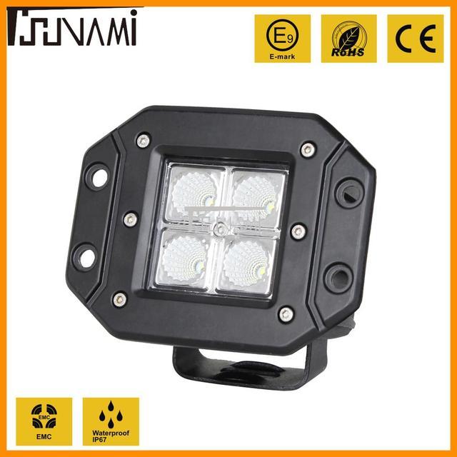 Verstelbare LED verlichting Super heldere schijnwerper flood verlichting voor Off road Truck Tractor Boot Trailer 4x4 SUV ATV