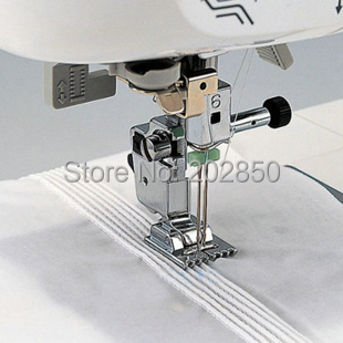 Household Multi-Function Sewing Machine Tank Presser Foot With 9 Grooves,Compatible With Brother,Janome,Singer,Feiyue,Acme... machine