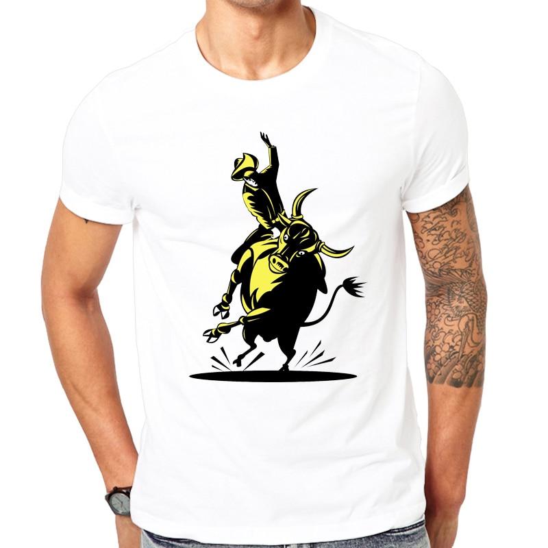 Newest 2017 mens fashion printed short-sleeve Matador design t-shirt Harajuku funny tee shirts Hipster O-neck cool tops
