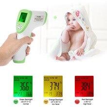 Цифровой термометр инфракрасный термометр бесконтактный лоб Для тела поверхности Температура инструменты termostato удержания данных Func
