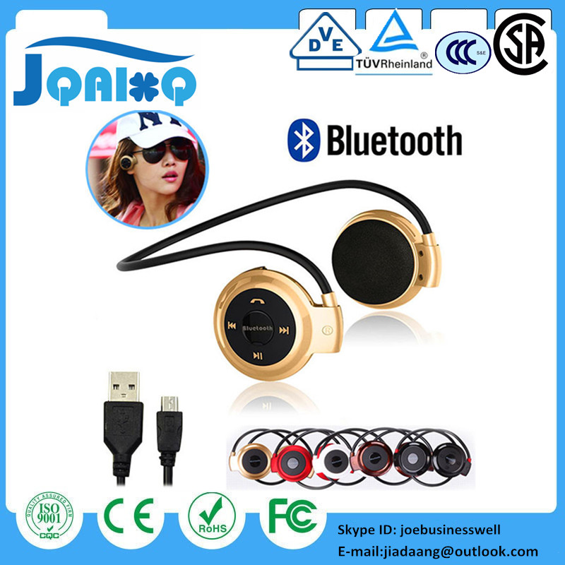 DHL 30pcs <font><b>Mini</b></font> <font><b>503</b></font> Sport <font><b>Bluetooth</b></font> Wireless Headphones Music Stereo Earphones+Micro SD Card Slot+FM Radio Mini503 BH503