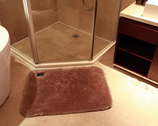 Super soft wool absorbent decorative doormat / carpet Rag/bathroom bug 50*80