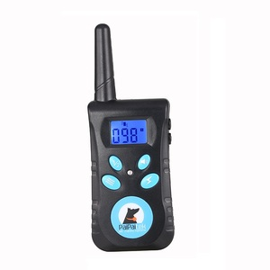 Heropie 500M Remote Rechargeable Blue Screen Pet Bark Stop Collar Pet Dog Training Collar Pet Dog No Bark Collar