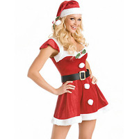 Tianyi Lover Baby Sexy Lingerie Santa Claus Costumes Female Christmas Outfit For Adult