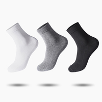 5 Colors 10 Pairs Lot Men Cotton Business Socks Brethable Anti Bacterial Deodorant High Quality Hygroscopic