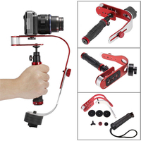 مصغرة يده كاميرا dslr المثبت الفيديو المحمول الحركة dv الرقمية الكاميرا المدمجة حامل لنيكون كانون سوني gopro dv o3