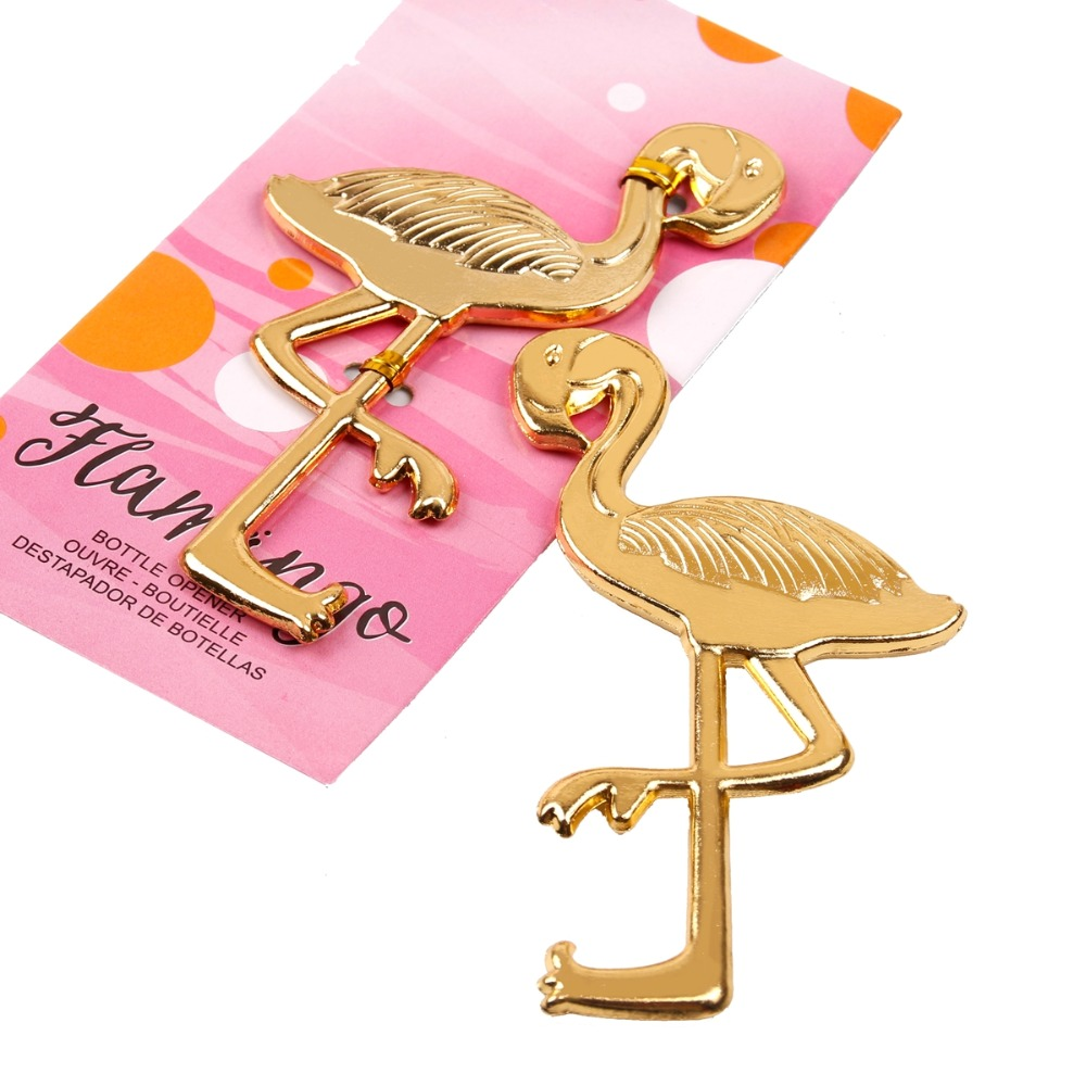FENGRISE Wedding Souvenirs Flamingo Bottle Opener Wedding Favors And ...