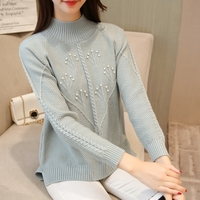 The New Film 5425 Chest Bubble Bead Solid Colored Sweater 48 4 Ranked No 1 On