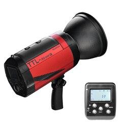 Nicefoto TTL-RQ400C bezprzewodowy TTL Speedlite ttl flash bezprzewodowe błyskanie studyjne nflash szybka synchronizacja do aparatów Canon
