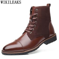 winter shoes men snow boots men timber land shoes mens dress boots leather chelsea boots erkek bot botas masculina heren schoene