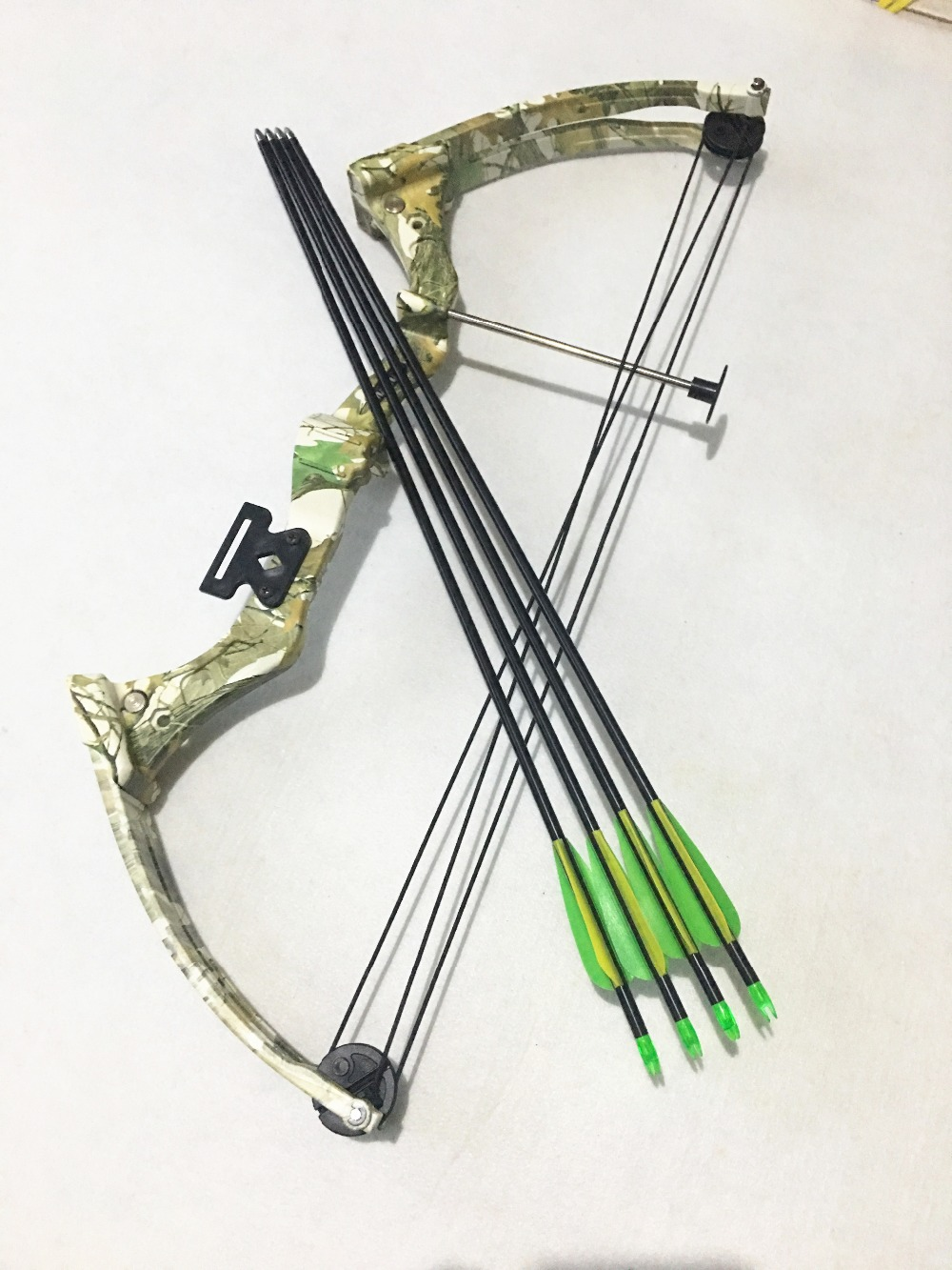 arco caça & conjunto seta polia peixe