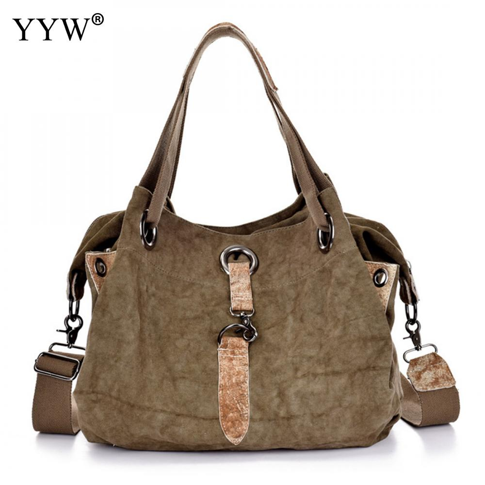 Fashion Canvas Unisex Handbags Tote Bag for Men Khaki Women Hobos Crossbody Bags with Zipper Male Soft Shopping Top-handle BagFashion Canvas Unisex Handbags Tote Bag for Men Khaki Women Hobos Crossbody Bags with Zipper Male Soft Shopping Top-handle Bag