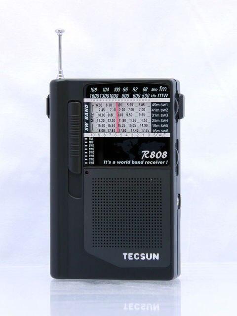 TECSUN R-808 FM/MW/SW Full Band Mini Radio