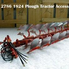 Редкие Специальное предложение 1:32 тонкий 2786 1824 металлический плуг трактор аксессуары сельскохозяйственная модель автомобиля сплав коллекционный режим