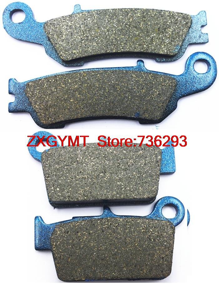 Off-road Semi Metallic Disc Brake Pads Set fit YAMAHA YZ125 YZ 125 2008 & up