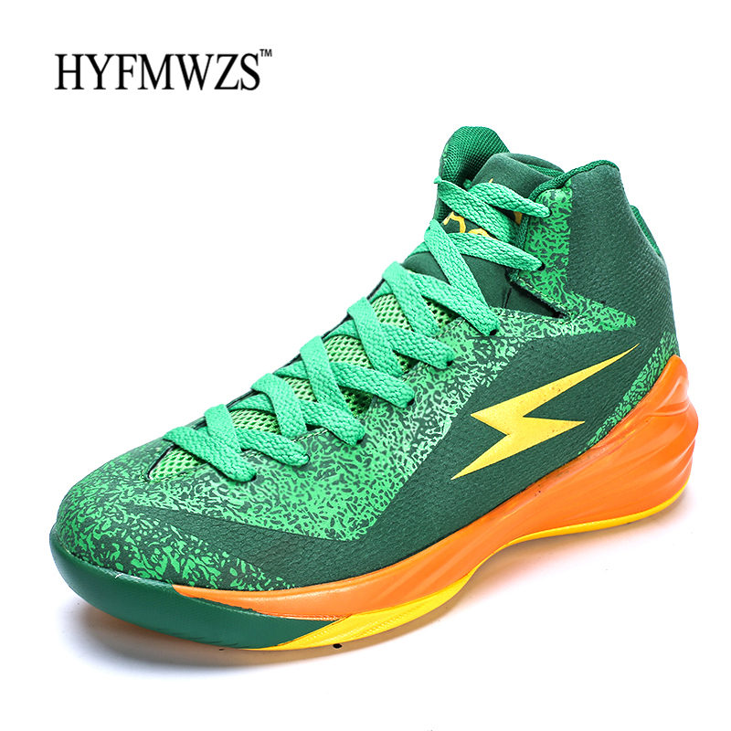 HYFMWZS High Quality Cheap Basketball Shoes Krasovki Non-slip Mens Basketball Shoes Breathable Sneakers Basketball Sport Shoes