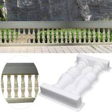 Roman Vase Column Fence Plastic Mold Double Vase Art Fence DIY Craft Home Garden Ornament Decor Concrete Molds(China)