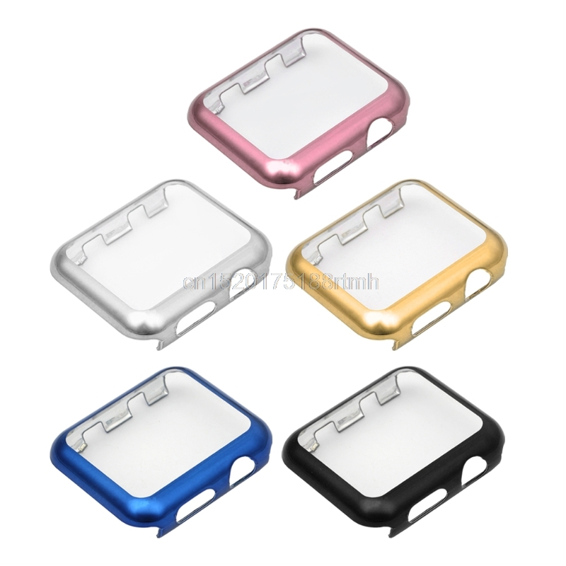 Watch 1 shell Ultra-Thin Full Screen Protector Cover PC Case For Apple Watch Series 1 2 3842mm