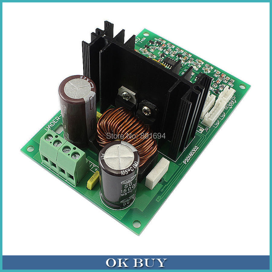 DC-DC 16-54V 48V36V24V to 0-40V 0-10A High Power Voltage Adjustable Power Supply Board External Potentiometer Support Parallel