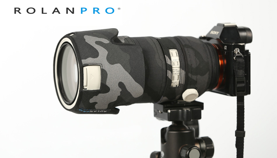 ROLANPRO Lens Clothing Camouflage Coat Rain Cover for Sony FE 70 200mm f 2 8 GM