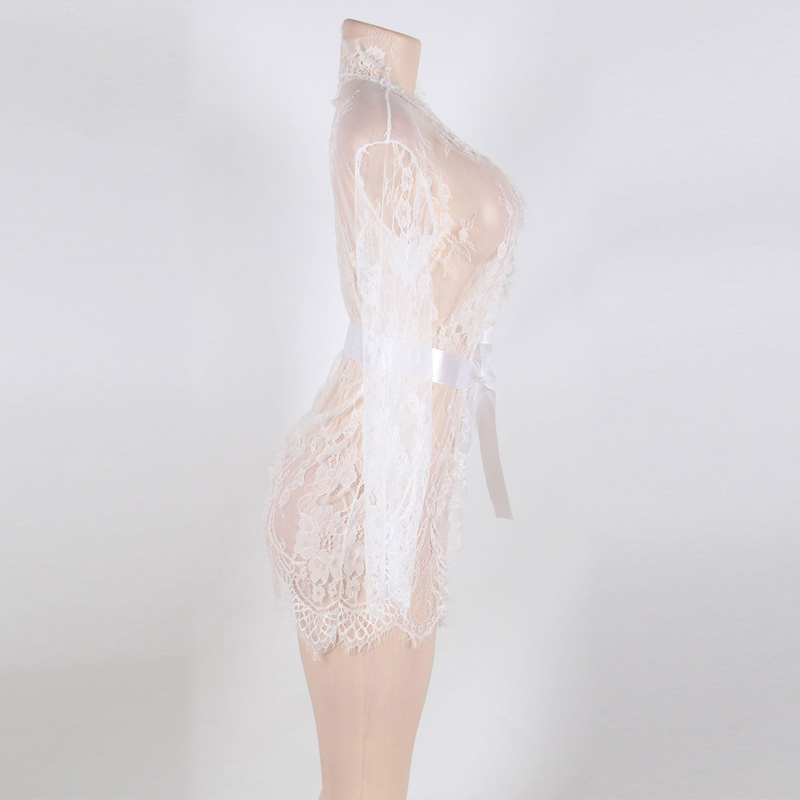 Lace Sleepwear Gown2