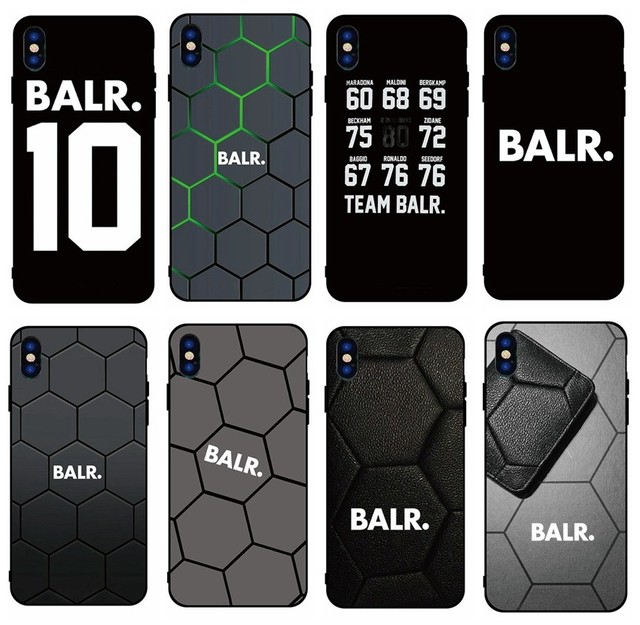quality design e0730 0df7e US $3.75 |For iPhone X BALR soft Silicone TPU phone case for iPhone 8 7 6  6S Plus X XS MAX XR 10 5S SE Coque Shell-in Fitted Cases from Cellphones &  ...