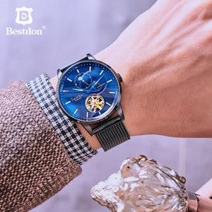 Image 5 - Bestdon montre mécanique pour hommes, accessoire de luxe, sport, Tourbillon, de marque, à la mode, suisse