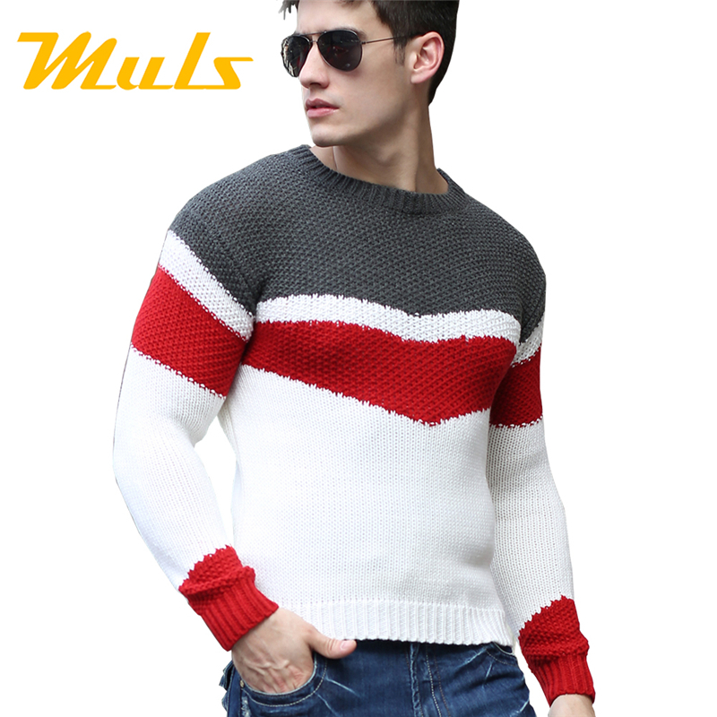 Buy sweater men pullover brand polo men for Mens sweater collared shirt