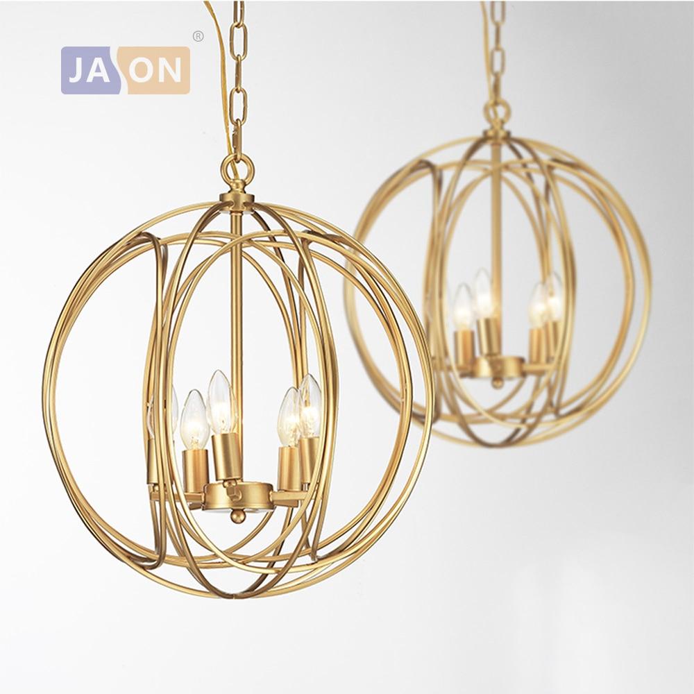 led e14 American Iron Golden Globe LED Lamp LED Light.Pendant Lights.Pendant Lamp.Pendant light For Dinning Room