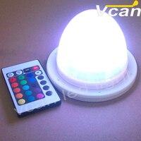 Mejor Batería recargable impermeable RGB lámpara de luz LED VC-L120