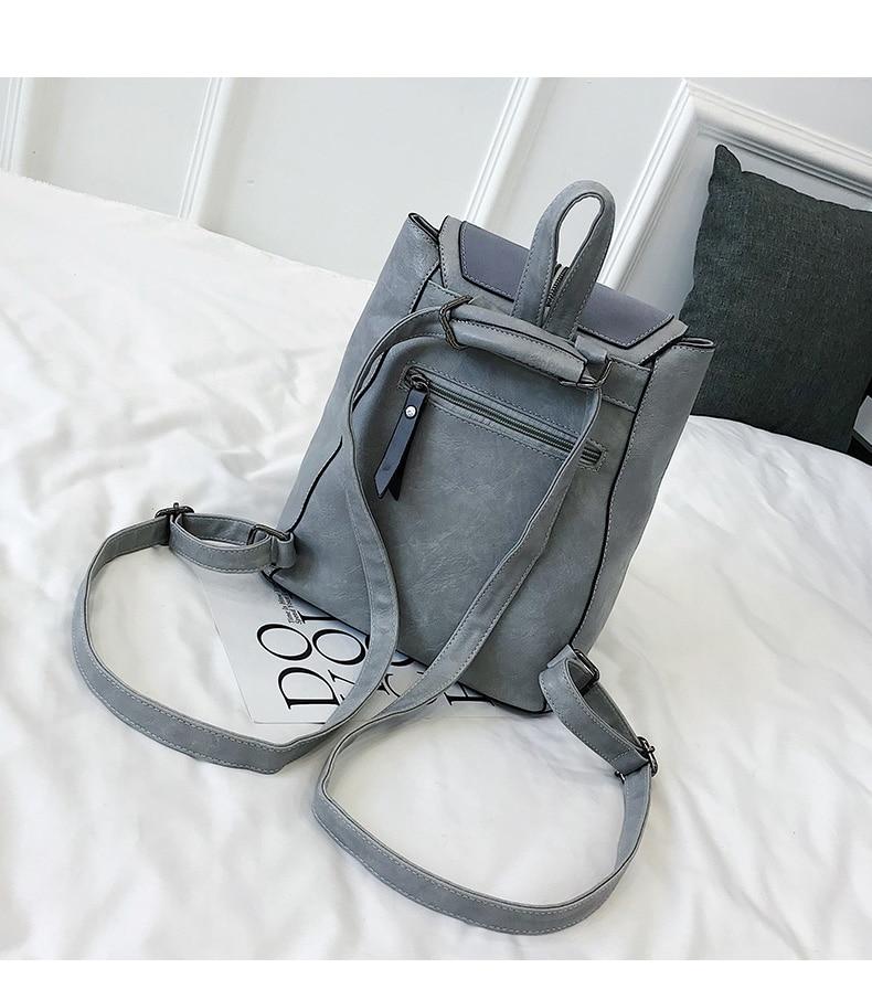 HTB1FUHVbUuF3KVjSZK9q6zVtXXar Vintage Matte Leather Women Backpacks High Quality Multifunctional Shoulder Bag Female Girls Backpack Retro Schoolbag XA533H