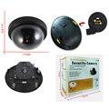 Indoor/outdoor dome Falso Manequim Vigilância Led Ir Sem Fio em casa câmera de CCTV de Vigilância de vídeo de Câmera de Segurança Simulado
