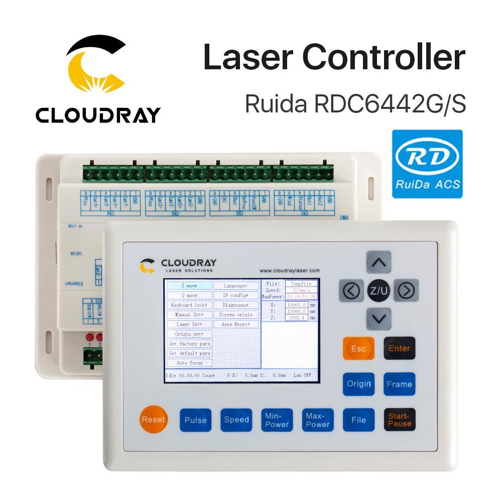 """""""Cloudray Ruida RD RDC6442G Co2"""" lazerinis DSP valdiklis - Staklės ir priedai - Nuotrauka 2"""
