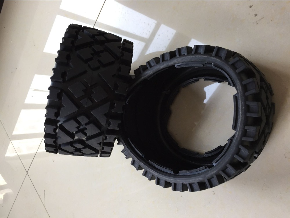 baja 5B rear all terrain tire for 1/5 HPI Baja 5B Parts Rovan KM 4 bolt 27 5cc engine walbro 668 with ngk spark plug for 1 5 hpi baja 5b 5t 5sc km rovan 81007